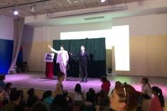 Show en una escuela